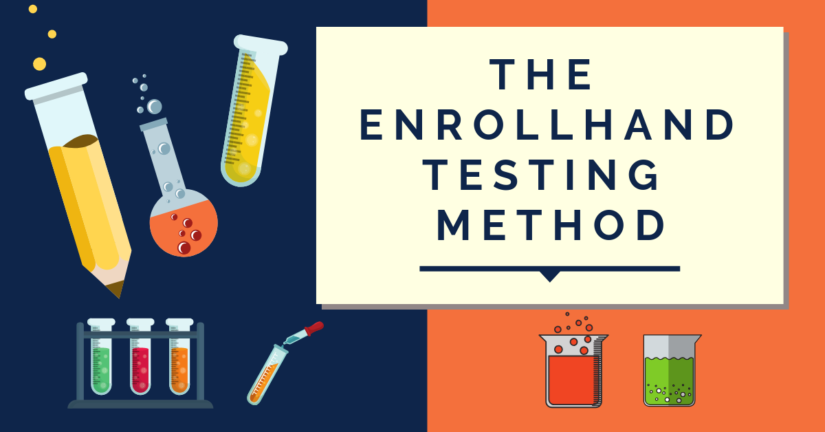 The Enrollhand Testing Method
