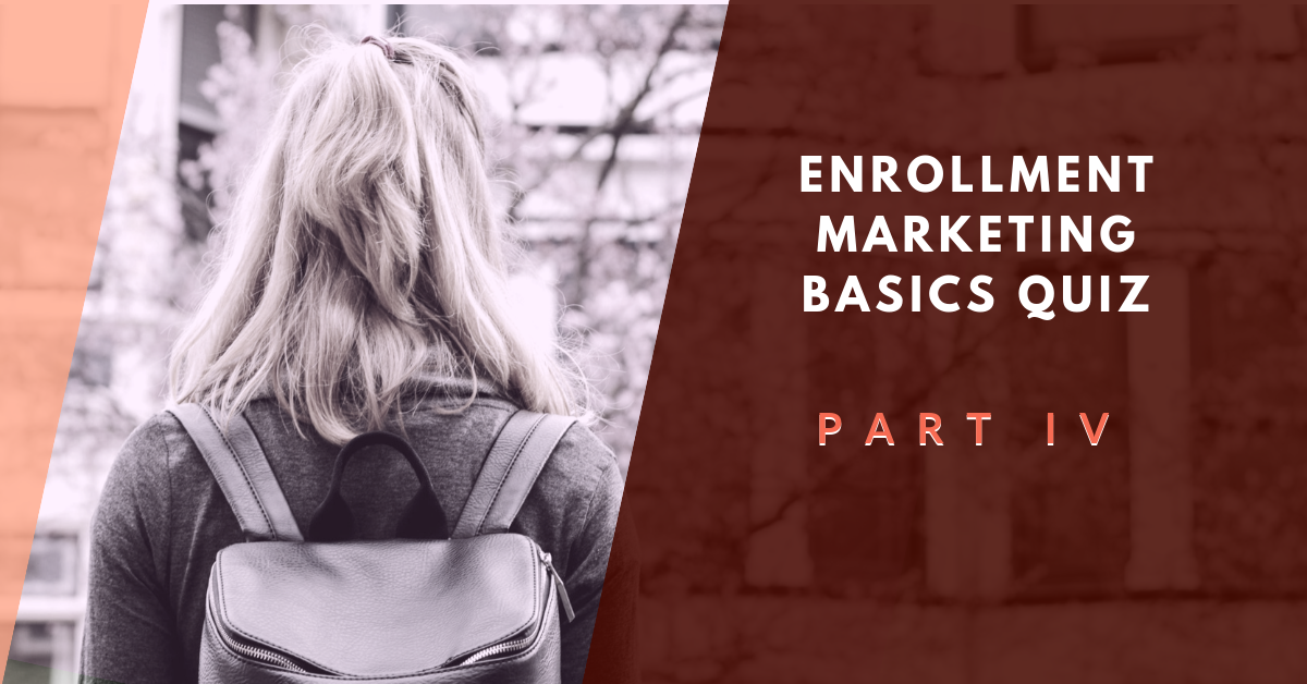 [Private] Enrollment Basics Quiz Part IV