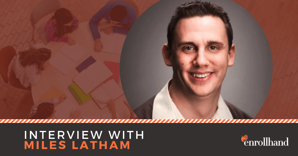Pushing Schools to the Edge of the Creative Cliff, with Miles Latham