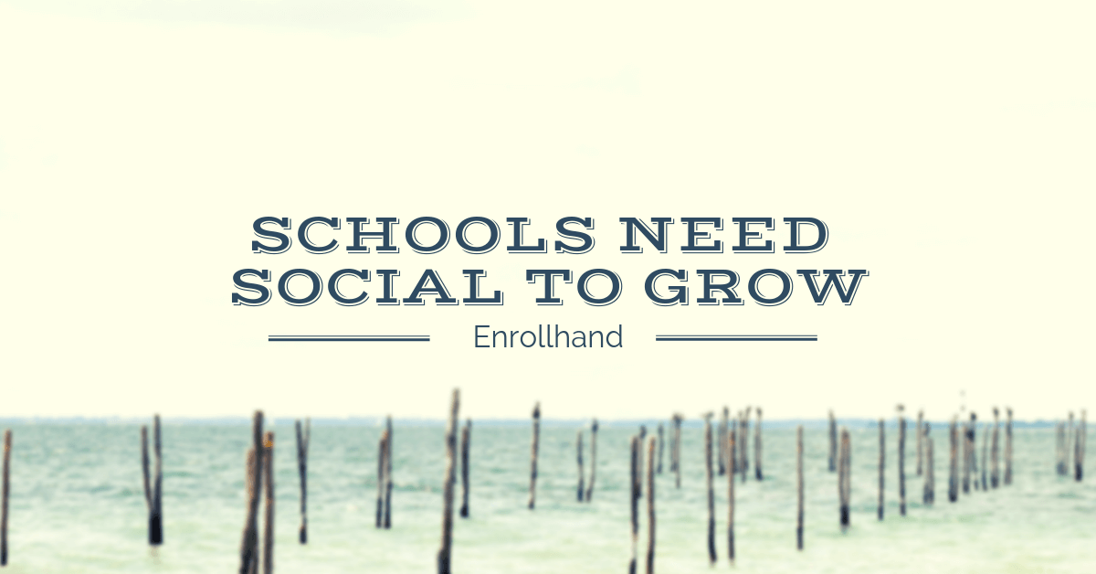 Schools Believing They Cannot Grow Without Social Media Marketing Up 17% Since Last Year