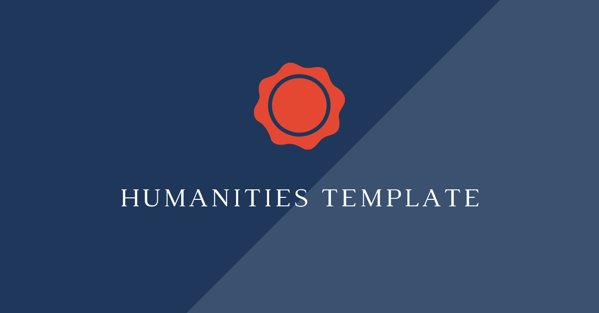 [Private] Waring School - Humanities Templates