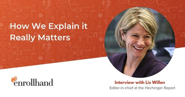 How We Explain it Really Matters, with Liz Willen