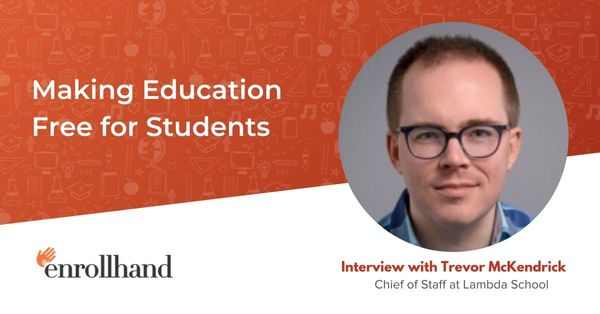 Making Education Free for Students, with Trevor McKendrick